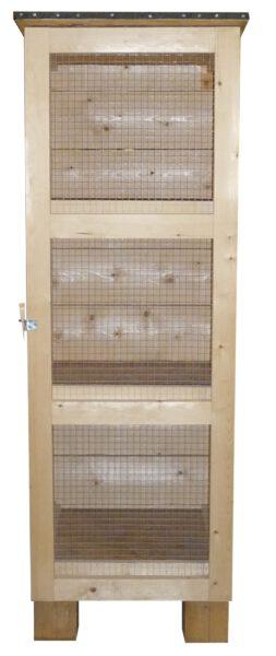 Kaninchenstall 3 Boxen