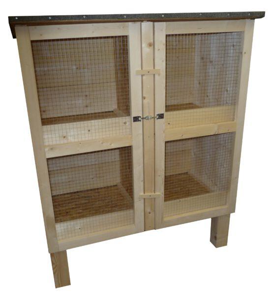 Kaninchenstall 4 Boxen